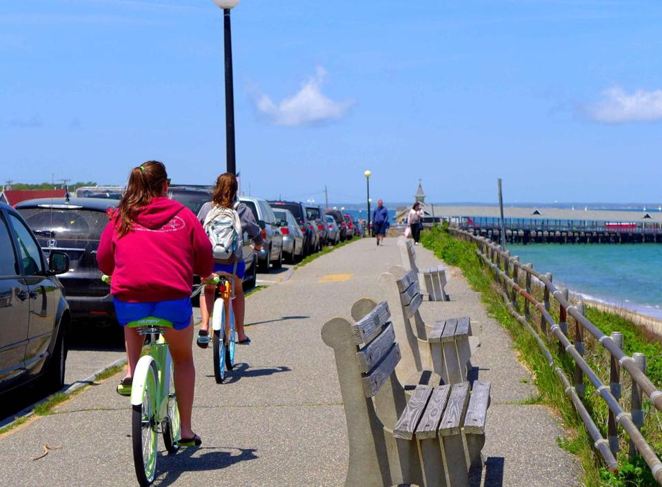 Once you're on the Vineyard, renting a bicyle is almost as easy as pedaling one.